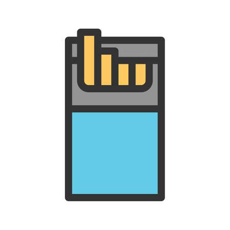 Cigarette Pack icon Ilustrace