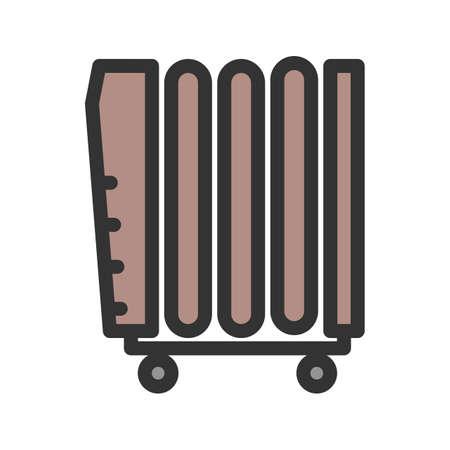 Oil Heater icon Ilustrace