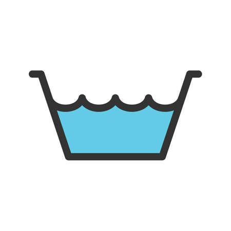 Water, bucket, container icon vector image. Can also be used for Cleaning Services. Suitable for web apps, mobile apps and print media.