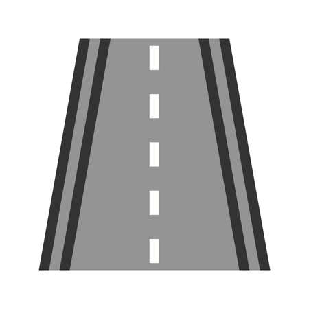 Highway, road, way icon image. Can also be used for transport, transportation and travel. Suitable for mobile apps, web apps and print media.