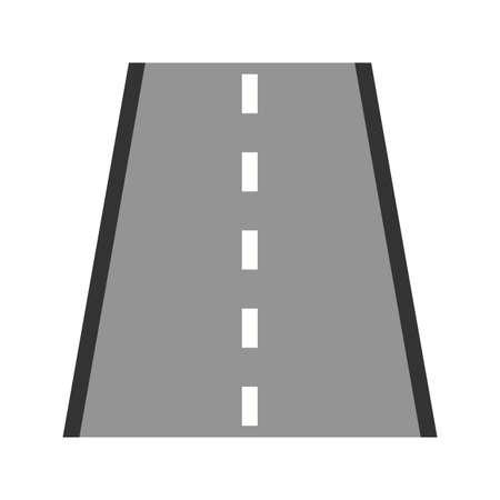 高速道路、道路、道路アイコン画像。輸送、輸送、旅行にも使用できます。モバイルアプリ、Webアプリ、印刷メディアに適しています。 写真素材 - 92599900