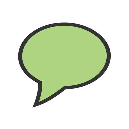 Messages, chat, communicate icon  image. Can also be used for phone and communication. Suitable for use on web apps, mobile apps and print media.