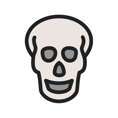 Skull, x-ray,head,trauma icon image. Can also be used for healthcare and medical. Suitable for mobile apps, web apps and print media.