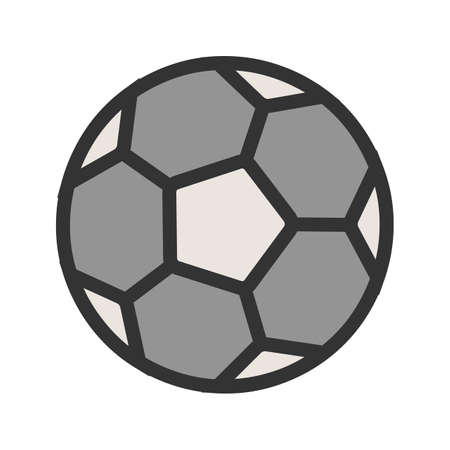 Football, ball, soccer, sports icon  image. Can also be used for fitness, recreation. Suitable for web apps, mobile apps and print media.