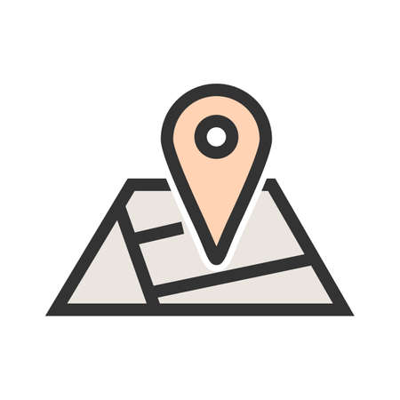 Map, geography, travel icon image. Can also be used for mobile apps, phone tab bar and settings. Suitable for use on web apps, mobile apps and print media.