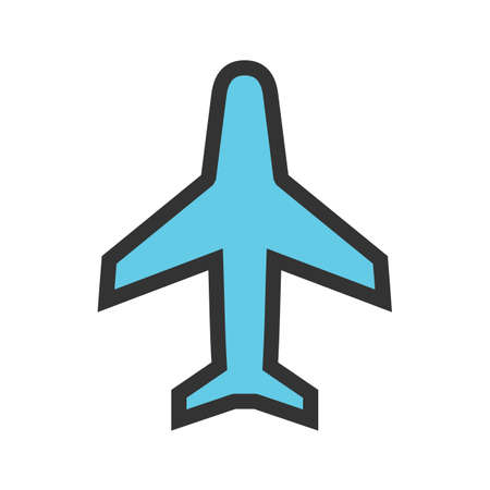 Aeroplane, flight boarding icon  image. Can also be used for transport, transportation and travel. Suitable for mobile apps, web apps and print media.