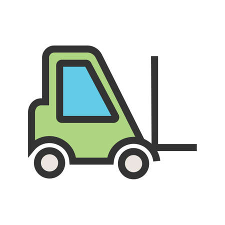Crane, truck, lift icon  image. Can also be used for transport, transportation and travel. Suitable for mobile apps, web apps and print media.