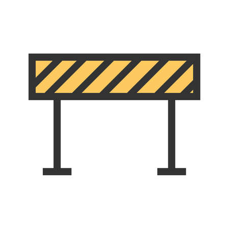 Barrier, security, hurdle icon image. Can also be used for transport, transportation and travel. Suitable for mobile apps, web apps and print media.