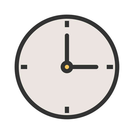Clock, time, watch, icon vector image. Can also be used for banking, finance, business. Suitable for web apps, mobile apps and print media.