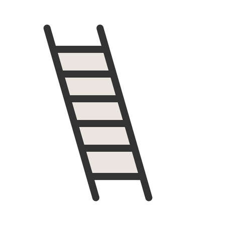 Ladder, construction, building icon  image. Can also be used for construction, interiors and building. Suitable for use on web apps, mobile apps and print media.