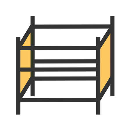 Scaffolding, steel, engineering icon  image. Can also be used for construction, interiors and building. Suitable for use on web apps, mobile apps and print media.