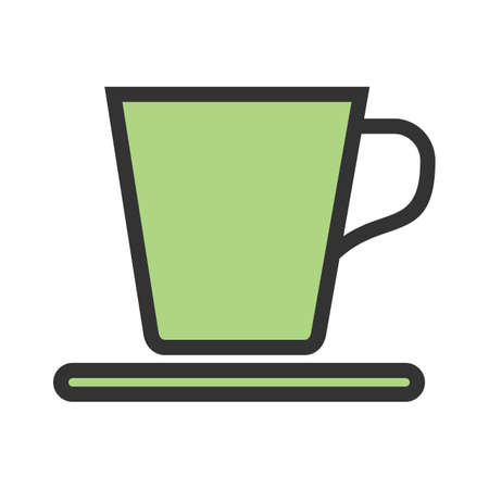 Tea, cup, breakfast icon image. Can also be used for eatables, food and drinks. Suitable for use on web apps, mobile apps and print media. Illusztráció