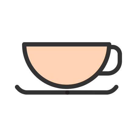 Coffee, mug, drink icon  image. Can also be used for eatables, food and drinks. Suitable for use on web apps, mobile apps and print media