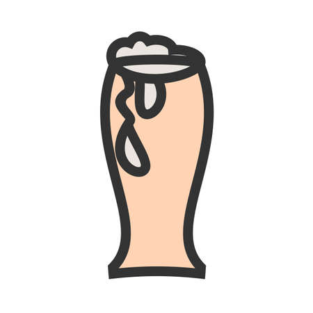 Beer, glass,brewery icon  image. Can also be used for eatables, food and drinks. Suitable for use on web apps, mobile apps and print media Illusztráció