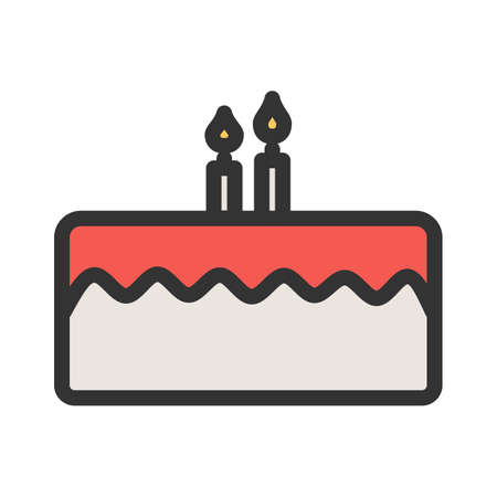 Cake, dessert, delicious icon  image. Can also be used for eatables, food and drinks. Suitable for use on web apps, mobile apps and print media