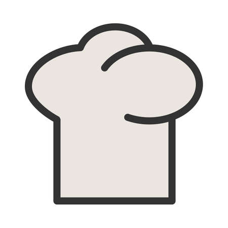 Hat, chef, cap icon  image. Can also be used for eatables, food and drinks. Suitable for use on web apps, mobile apps and print media