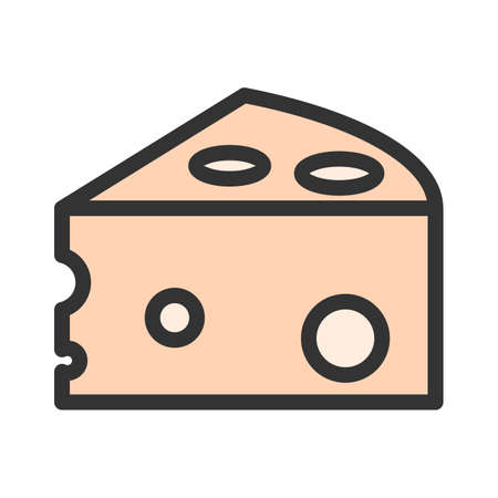 Cheese, cheddar, appetizer icon image.