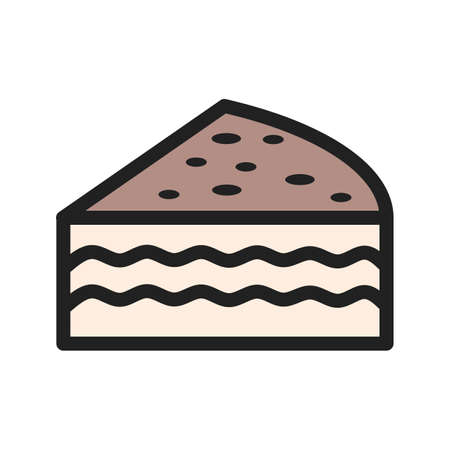 Cupcake, chocolate, fudge icon  image. Can also be used for sweets and confectionery. Suitable for use on web apps, mobile apps and print media.