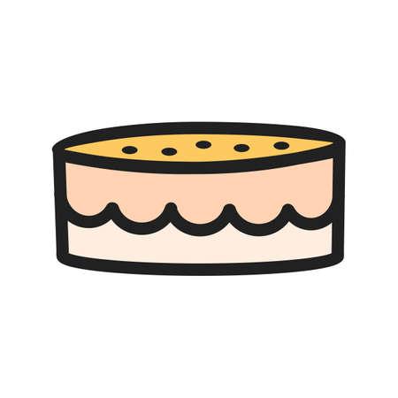 Cake icon image.