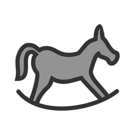 Horse, riding, race icon image. Can also be used for Christmas, celebrations, observances and holidays. Suitable for use on web apps, mobile apps and print media. Illustration