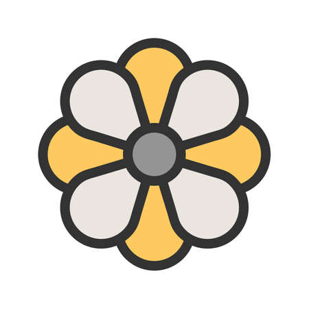 Flower, rose, celebration icon image. Can also be used for Christmas, celebrations, observances and holidays. Suitable for use on web apps, mobile apps and print media.