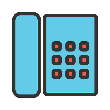 Phone, cradle, receiver icon image. Can also be used for business, finance and accounts. Suitable for web apps, mobile apps and print media.