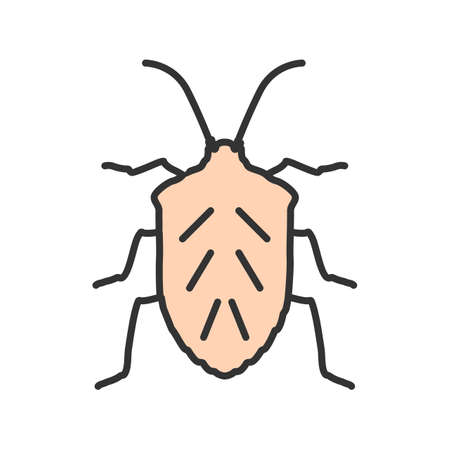 Bug, crawler, beetle icon vector image. Can also be used for Animals and Insects. Suitable for mobile apps, web apps and print media.