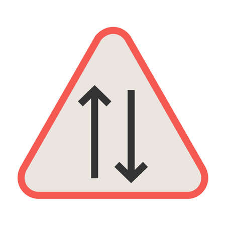 Way, sign, highway icon vector image. Can also be used for traffic signs. Suitable for web apps, mobile apps and print media.