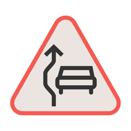 Sign, traffic, overtaking icon vector image. Can also be used for traffic signs. Suitable for web apps, mobile apps and print media. Illustration