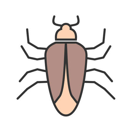 Bug, crawler, insect icon vector image. Can also be used for Animals and Insects. Suitable for mobile apps, web apps and print media. Illustration