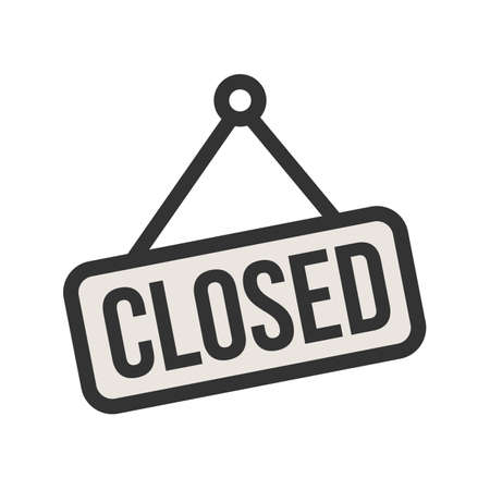Cancel, close, closed icon vector image. Can also be used for Black Friday. Suitable for use on web apps, mobile apps and print media. 向量圖像