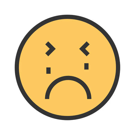 Crying, baby, child icon vector image. Can also be used for emotions and smileys. Illustration