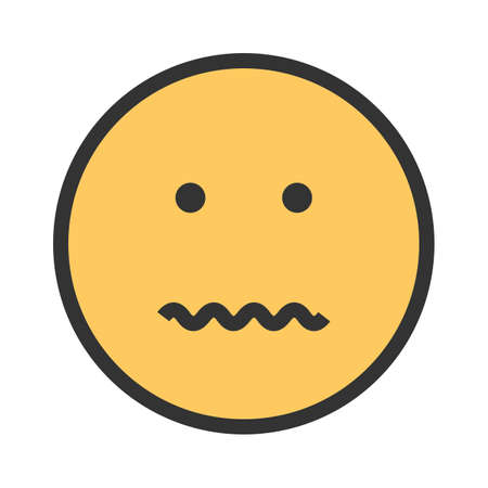 Cancel, annulled, dissolve icon vector image. Can also be used for emotions and smileys.