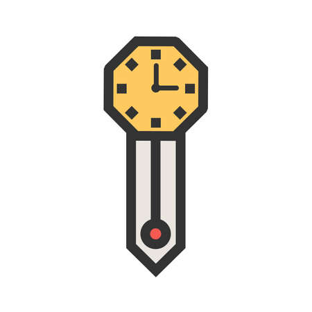 Clock, wall, time icon vector image.Can also be used for home electronics and appliances. Suitable for mobile apps, web apps and print media.