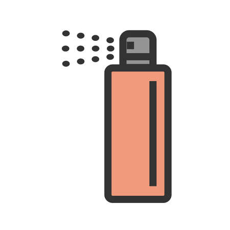 Spray, can, paint icon vector image.Can also be used for art and designing. Suitable for mobile apps, web apps and print media.