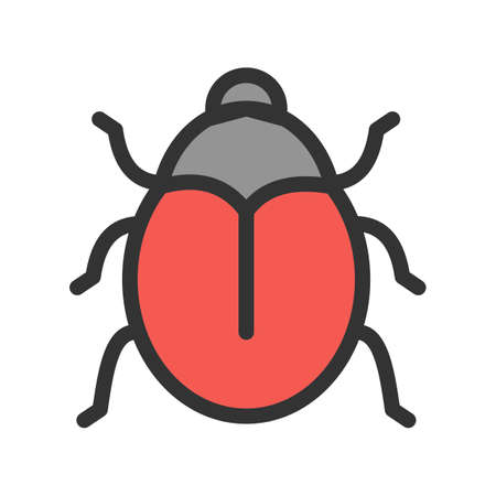 Insect, nature, butterfly icon vector image.Can also be used for gardening. Suitable for mobile apps, web apps and print media.