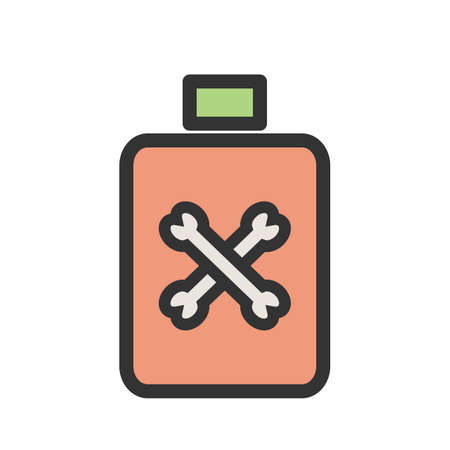 Bottle, spray, insecticide icon vector image.Can also be used for gardening. Suitable for mobile apps, web apps and print media. Vettoriali