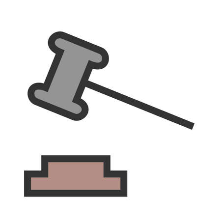 Order, court, responsibility icon vector image.Can also be used for law and order. Suitable for mobile apps, web apps and print media.