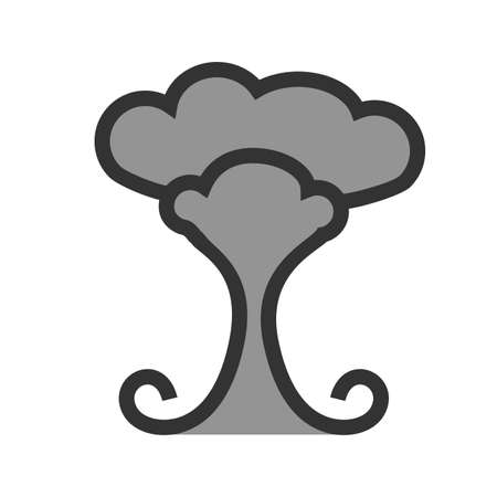 Explosion, bomb, weapon icon vector image. Can also be used for military. Suitable for use on web apps, mobile apps and print media.