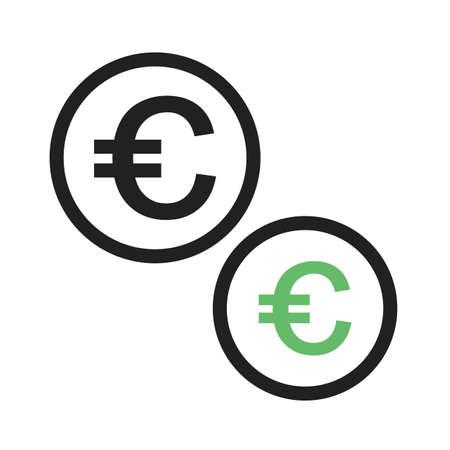Currency vector Illusztráció