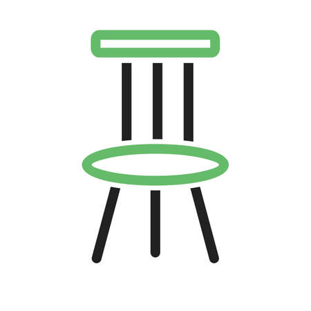 Chair, modern, furniture icon vector image. Can also be used for household objects. Suitable for use on web apps, mobile apps and print media. 일러스트