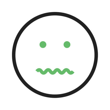 Cancel, annulled, dissolve icon vector image. Can also be used for emotions and smileys. Suitable for mobile apps, web apps and print media.