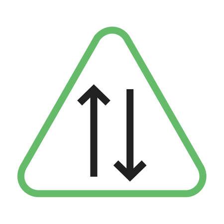 Manier, teken, snelweg pictogram vector afbeelding. Kan ook worden gebruikt voor verkeersborden. Geschikt voor web-apps, mobiele apps en gedrukte media.