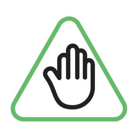 Stop, sign, road icon vector image. Can also be used for traffic signs. Suitable for web apps, mobile apps and print media.