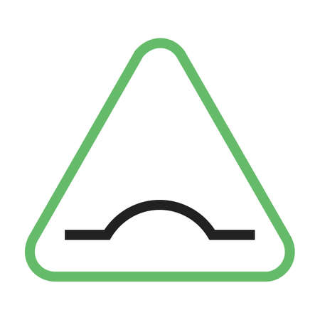 Road, warning, sign icon vector image. Can also be used for traffic signs. Suitable for web apps, mobile apps and print media.