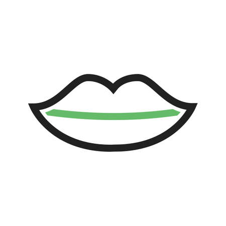 Lips, red, kiss icon vector image. Can also be used for wedding. Suitable for use on web apps, mobile apps and print media.