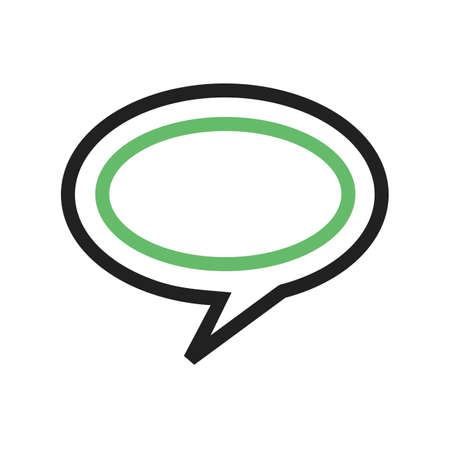 Messages, chat, communicate icon vector image. Can also be used for shapes and geometry. Suitable for use on web apps, mobile apps and print media.