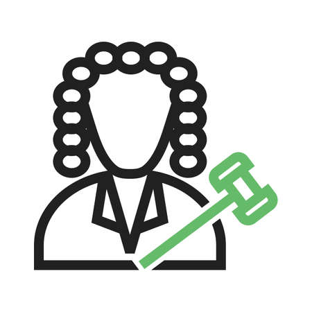 Judge, court, responsibility icon vector image.Can also be used for law and order. Suitable for mobile apps, web apps and print media.