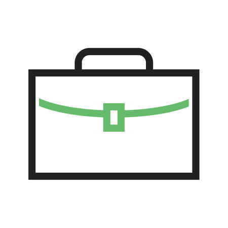 Briefcase, business, case icon vector image.Can also be used for law and order. Suitable for mobile apps, web apps and print media.