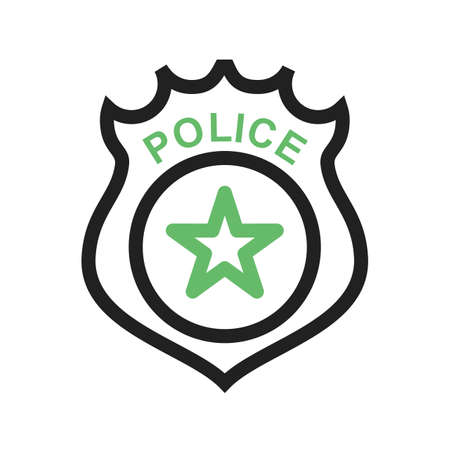 police badge law icon vector image can also be used for law rh 123rf com police badge vector illustration vector police badge custom